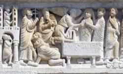 San Cassiano e la Resurrezione di Lazzaro