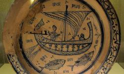 bacini ceramici - veliero